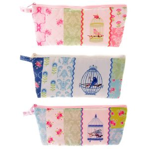 BFACPU - 001 - 106 Chintz Bird Cage Pencil Case