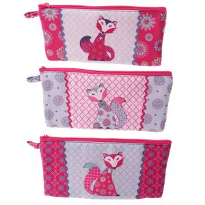 BFACPU - 001 - 108 Cute Chintz Fox Pencil Case
