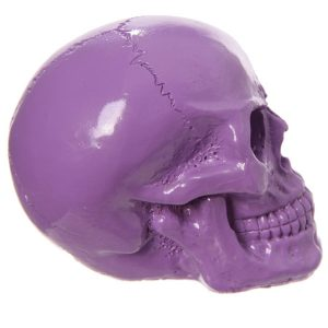 BFACPU001015 PURPLE SKULL