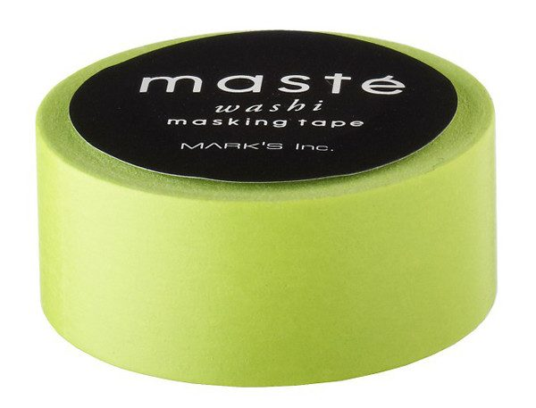 BFADMJ004101 Maste Basic - Lime - Washi Tape