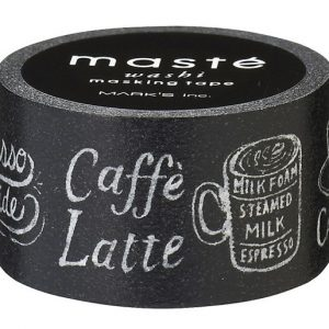 BFADMJ004950 Maste City Espresso Guide - Washi Tape