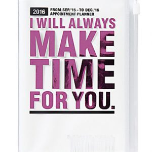 BFADMJ004J02 2016 I Will Always Pink A5 Diary