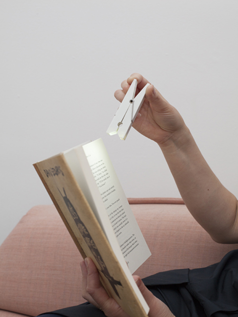 16 Book Lovers and Readers Gifts Under £20 - SKU BFADKI001010 White Clip Light C