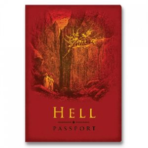BFAACW – 002 – 100 – Passport to Hell Pocket Notebook