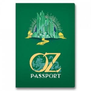 BFAACW – 002 – 101 – Passport to OZ Pocket Notebook