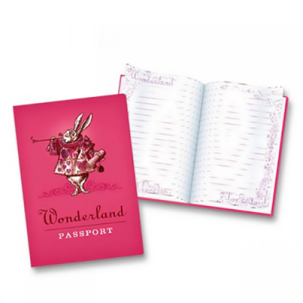 BFAACW – 002 – 102 – Passport to Wonderland Pocket Notebook