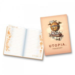 BFAACW – 002 – 103 – Passport to Utopia Pocket Notebook