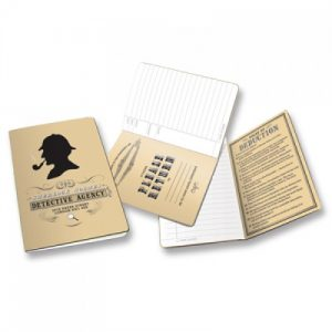 BFAACW – 002 – 104 – The Sherlock Holmes Detective Agency Notebook