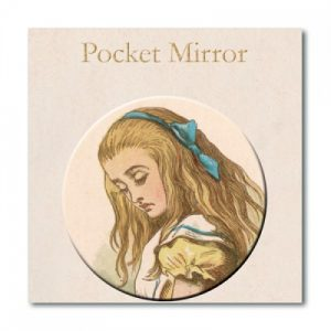 BFAACW – 002 – 200 – Alice in Wonderland Compact Pocket Mirror