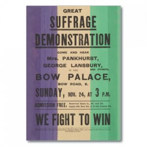 BFAACW – 003 – 062 – A5 Great Suffrage Demonstration Exercise Book