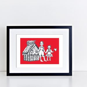 BFABAW – 001 – 002 Limited Edition Hansel and Gretel Print A