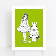 BFABAW – 001 – 005 – Limited Edition The Frog Prince Print A