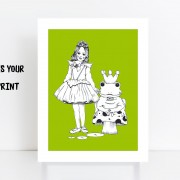 BFABAW – 001 – 005 – Limited Edition The Frog Prince Print B