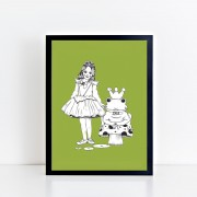 BFABAW – 001 – 005 – Limited Edition The Frog Prince Print c