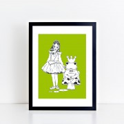 BFABAW - 001 - 005 - Limited Edition The Frog Prince Print d