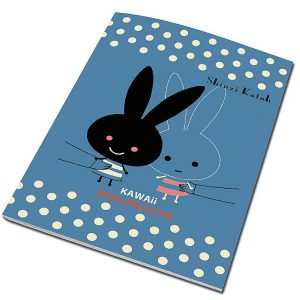BFADMJ – 004 – 101 – B5 Mon Peluche Ruled Notebook