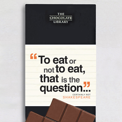 Certainly Not Shakespeare Chocolate - 16 Book Lovers and Readers Gifts Under £20