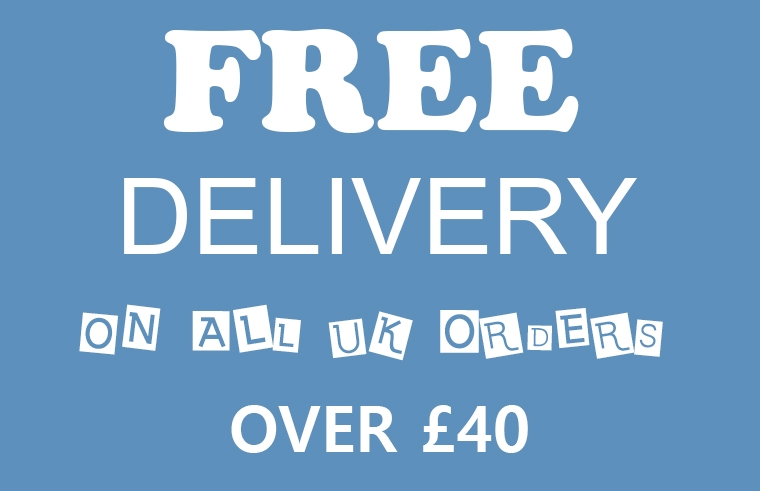 FREE SHIPPING ON UK ORDERS